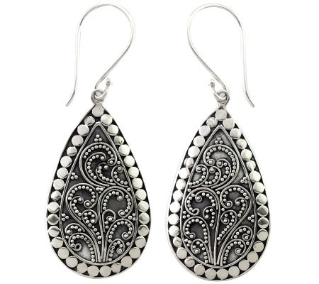 Novica Artisan Crafted Sterling Earrings