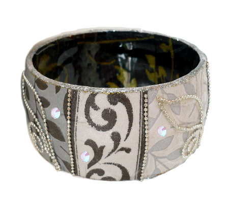 Iris Design Artisan Crafted Sophisticated VinesBangle