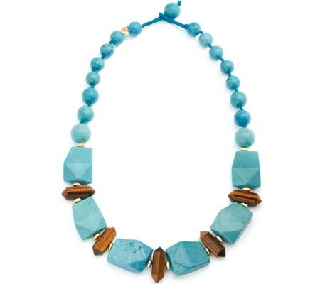 Lola Rose Elodie Beaded Collar Necklace