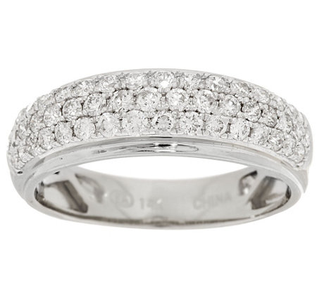 Micro-Pave' Diamond Band Ring, 14K, 6/10 cttw, by Affinity