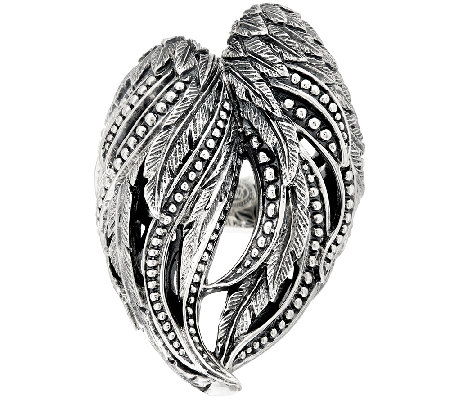 Scott Kay Sterling Silver Guardian Angel Ring