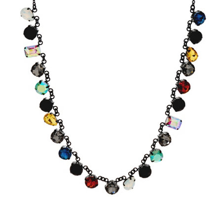 LOGO Links by Lori Goldstein Multi COlor Stone Necklace
