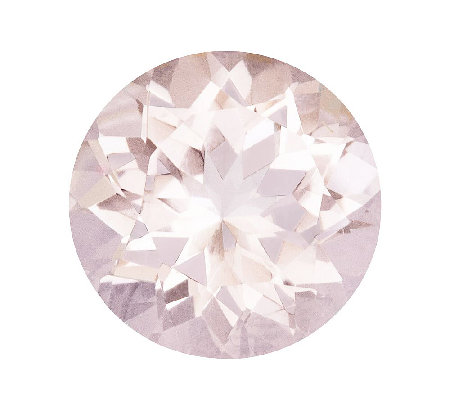 Premier 8mm Round Morganite Gemstone