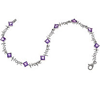 Words of Affirmation Gemstone Bracelet, Sterling Silver - J354303