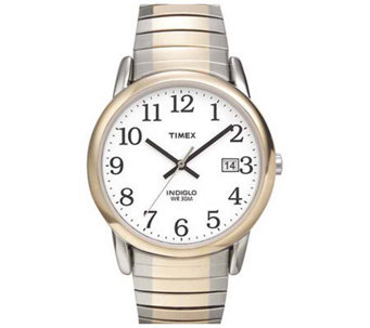 Timex Men's Easy Reader Two-Tone Expansion BandWatch - J109004