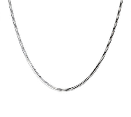 "Ultrafine Silver 22"" Snake Chain 13.5g"