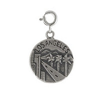 Sterling Los Angeles Charm - J113904