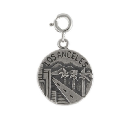 Sterling Los Angeles Charm