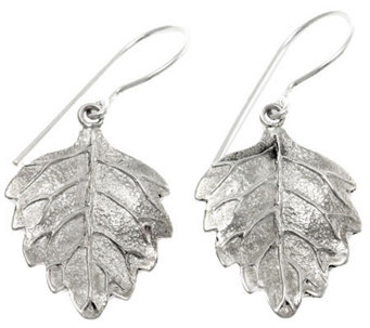 "Novica Artisan Crafted Sterling ""Enchanting Fall"" Earrings - J307504"