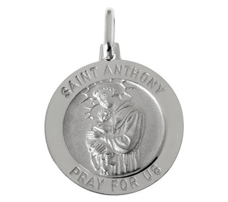 UltraFine Silver Saint Anthony Pendant