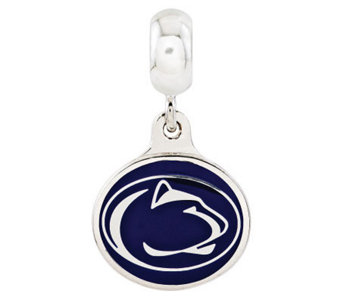 Sterling Silver Penn State University Dangle Bead - J315004