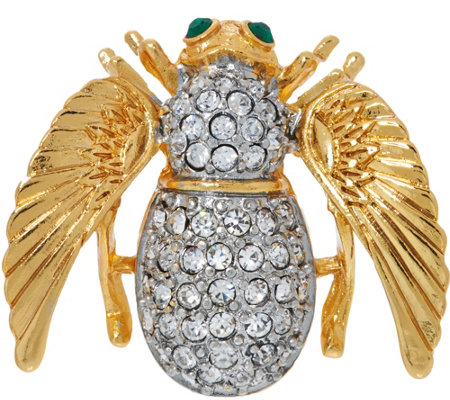 Joan Rivers Angel Bee Pin