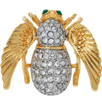 Joan Rivers Angel Bee Pin