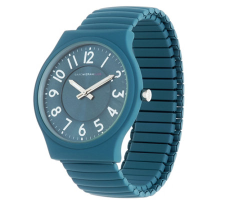 Isaac Mizrahi Live! SOHO Matte Finish Expansion Watch