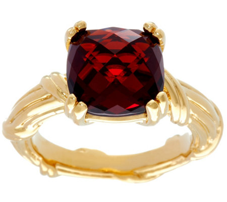 Peter Thomas Roth 18K Gold & Garnet Gemstone Ring