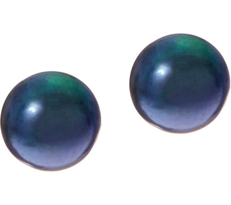 Honora Cultured Pearl 12.0mm Button Stud Earrings, 14K