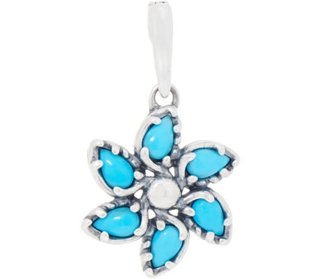 Carolyn Pollack Sleeping Beauty Turquoise Pinwheel Enhancer