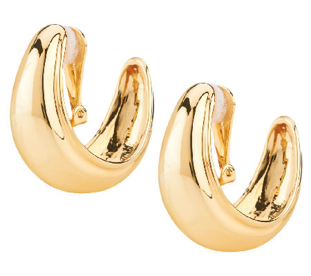 Linea by Louis Dell'Olio Bold Hoop Clip Earrings