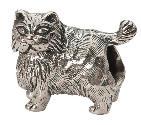 Prerogatives Sterling Persian Cat Bead