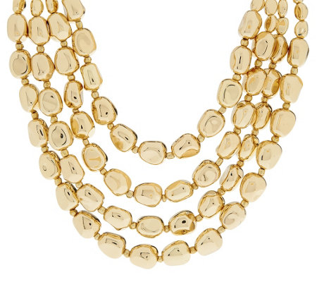 Linea by Louis Dell'Olio Multi-Strand Nugget Bead Necklace