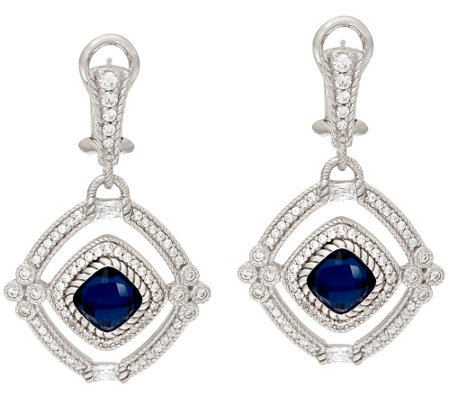 Judith Ripka Sterling Doublet Arabella Earrings