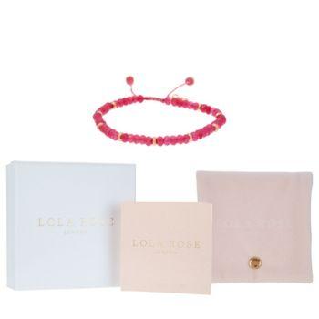 Lola Rose Northwood Gemstone Adjustable Bracelet