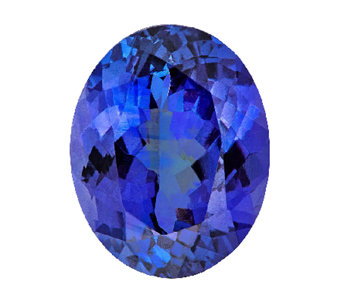 Premier 10x8mm Oval Tanzanite Gemstone - J336105