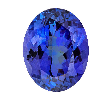 Premier 10x8mm Oval Tanzanite Gemstone