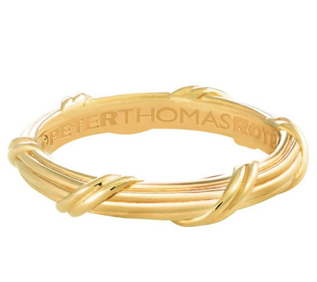 Peter Thomas Roth 18K Gold Signature Classic Men's Band Ring