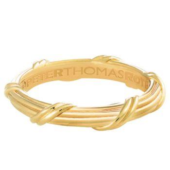 Peter Thomas Roth 18K Gold Signature Classic Men's Band Ring