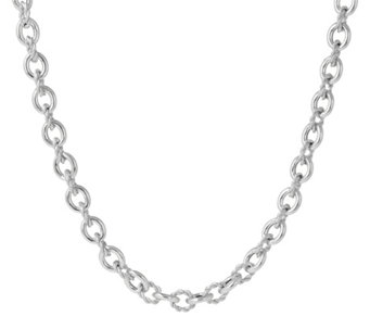 "Judith Ripka Verona Sterling 36"" Necklace,75.0g - J345705"