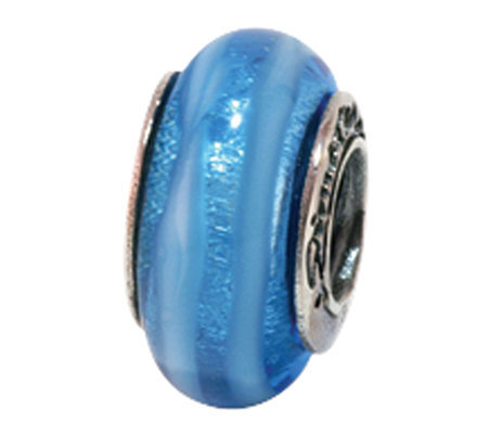 Prerogatives Sterling Blue Glass Bead