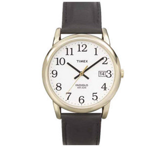 Timex Men's Easy Reader Goldtone Case Watch - J109006
