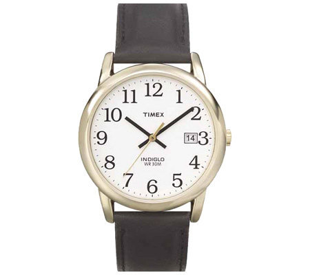 Timex Men's Easy Reader Goldtone Case Watch