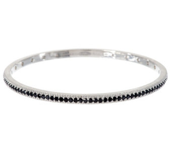 Judith Ripka Sterling 2.10 ct tw Diamonique Bangle Bracelet - J291806