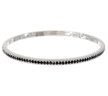 Judith Ripka Sterling 2.10 ct tw Diamonique Bangle Bracelet