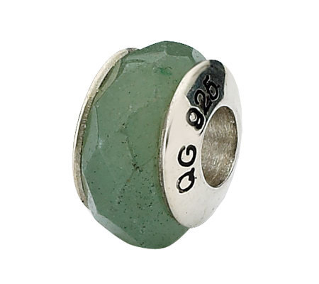 Prerogatives Sterling Aventurine Gemstone Bead