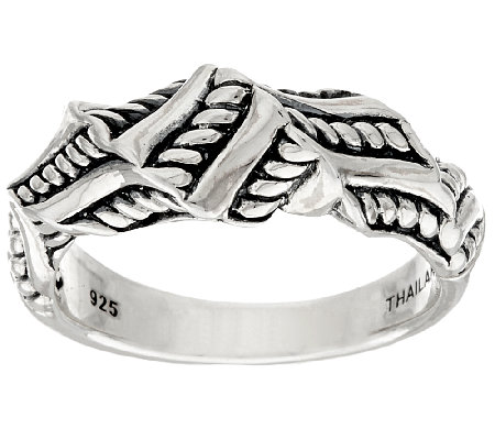 JAI Sterling Sukhothai Twisted Ring