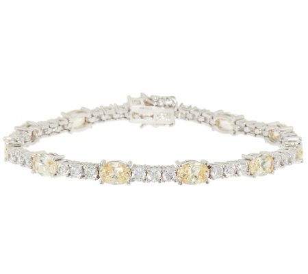 """As Is"" The Elizabeth Taylor Simulated Diam. Tennis Bracelet"