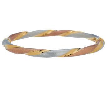 """As Is"" Veronese 18K Clad Average Tri-Color - J283107"