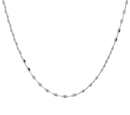 "14K Gold 20"" Petal Link Necklace 1.8g"