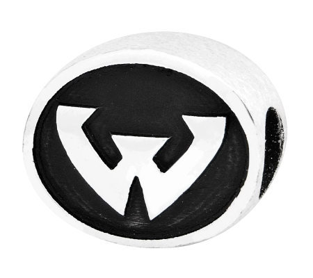 Sterling Silver Wayne State University Bead