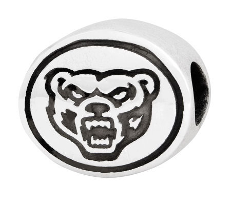 Sterling Silver Oakland University Bead