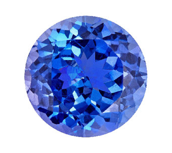 Premier 8mm Round Tanzanite Gemstone - J336107