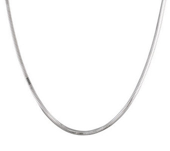 "Ultrafine Silver 26"" Snake Chain 15.5g - J109608"