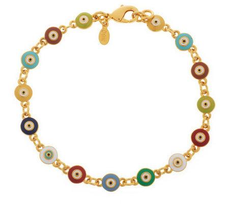 Joan rivers evil eye 7 1 2 line bracelet page 1 for Joan rivers jewelry necklaces
