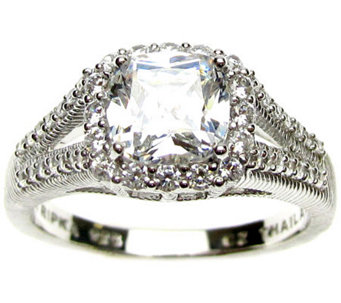 Judith Ripka Sterling 2.00 cttw Diamonique Ring - J309008