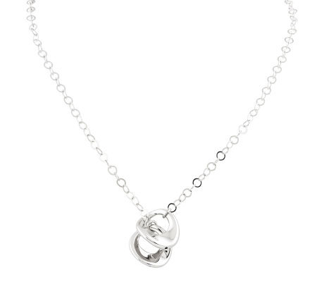Sterling Polished Rolo Link w/ Adjustable DropNecklace