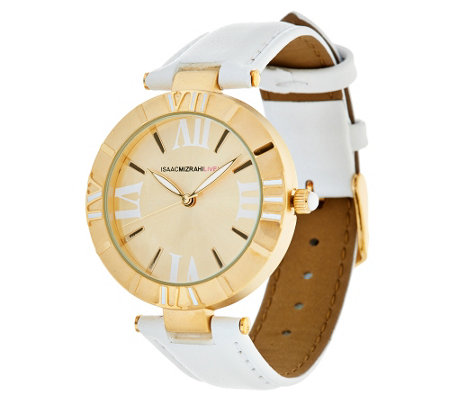 Isaac Mizrahi Live! Strap Atlas Watch
