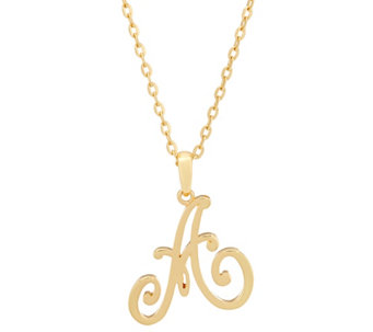 "C. Wonder 32"" Script Initial Pendant Necklace - J332608"